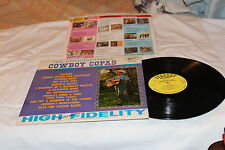 Cowboy Copas LP on Starday with Original Company Record Sleeve-THE UNFORGETABLE