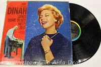 DINAH Sings Some Blues With Red LP (G) 12""