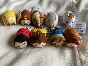 Disney beauty and the beast tsum tsum set of 9