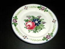 Georg Schmider Zell Baden Germany Floral Dessert/Salad Plate/s 1907 (loc-81F)