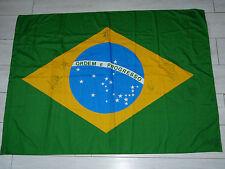 Drapeau signé flag BRASIL  signed PELÉ RONALDO RONALDINHO ROBINHO R. CARLOS