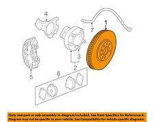 Chevrolet GM OEM 06-13 Corvette Front Brake-Disc Rotor 22812086