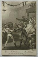 "KUPFERSTICH ""DER TODTENTANZ"" Fr. Kind 1809 ca. 7 x 11 cm H. Ramberg F. Bolt"