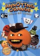 Annoying Orange: Get Juiced, Vol. 2 DVD 2013, Sealed