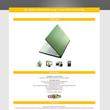eBay Template | Listing Template | Design Template | HTML Template | Orange