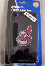 Cleveland Indians Apple iPhone 4 4S Faceplate Hard Case Cover Chief Wahoo