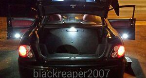 2004-2006 Pontiac GTO White LED Interior Light Kit