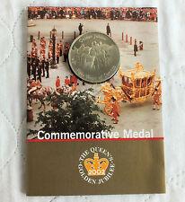 ROYAL MINT 2002 QEII GOLDEN JUBILEE MEDAL - sealed pack