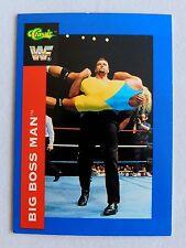 The Big Boss Man HOF WWF Classic Trading Card wrestlers wrestling WWE 2