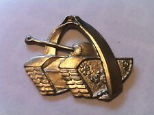 Belgian army armoured badge insigne blindee char q