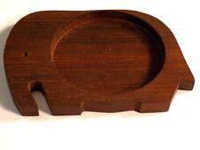 Incense Joss Stick Holder Burner Handmade Carved Wooden Ash Catcher 10.5cm