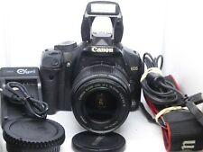 EOS 450d DSLR 12.2MP Camera w/EF-S 18-55mm IS Lens 32GB 11K shots ExC