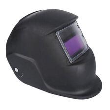 Black Solar Powered Automatic Auto Darkening Welding Helmet Wide Shade