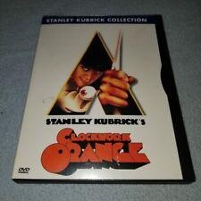 A Clockwork Orange (Dvd, Kubrick Collection Matted Widescreen *Rare