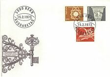 SWITZERLAND 1974 FIRST DAY COVER - VARIOUS DESIGNS ISSUE