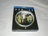 Heroes - Season 2 (2007) BLU-RAY 4-Disc Box Set Slipcase Superhero NBC TV