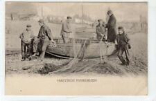 HASTINGS FISHERMEN: Sussex postcard (C43016)