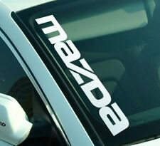 Mazda Side Decals Windshield Banners Stickers