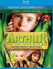 Arthur & the Invisibles 2 & 3-New Minimo Blu-ray