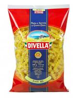 Divella Italian dry pasta Fusilli - 10 bags x 1 Lb (TOT. 10LBS)