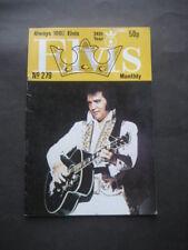 ANTIGUA REVISTA ELVIS PRESLEY Nº 279. ABRIL 1983