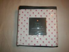 Cynthia Rowley Twin XL Sheet Set, Pink Poke-A-Dot, New
