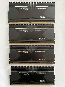 HyperX Predator DDR4-2800 RAM 16 GB (4x4). Gaming memory kit.