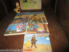 Vente Hergé-Tintin-Lot mini bd-brochés a  italienne-Eo-en Chinois(1985-1987)
