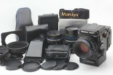 【 Top MINT Set 】 Mamiya RZ67 PRO II w/ 65/110/150mm Lens, 2x Finders Japan #658