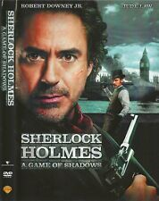 Sherlock Holmes:A Game of Shadows (DVD, 2011) DISK & COVER ARTWORK ONLY