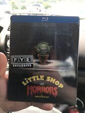 Little Shop of Horrors Director's Cut Steelbook Blu Ray Disc FYE Exclusive
