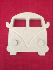 Free standing Campervan wooden MDF craft shape 18mm thick
