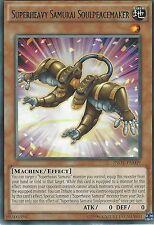 YU-GI-OH CARD: SUPERHEAVY SAMURAI SOULPEACEMAKER - RARE - INOV-EN009