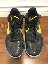 new concept 2d6e6 388db 2011 Nike Zoom Kobe VI (6) Size 10 Men s Black And Yellow. Black