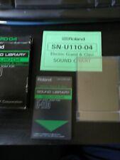 Roland Pcm Sound Card U20 D70 U220 U110-04 Electric Grand And Clavi
