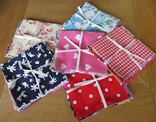 20 - 5 INS X 5 INS VINTAGE & MODERN QUILTING - PATCHWORK SQUARES