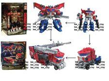 Transformers SIEGE War for Cybertron Leader Galaxy Upgrade Optimus Prime OPENBOX