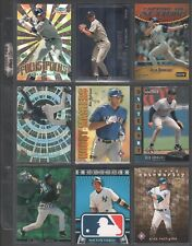 ALEX RODRIGUEZ ~ Lot of (9) Different Baseball Insert Cards w/ Sheet RARE! (A1)