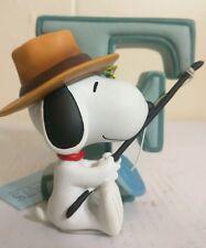 """Westland Giftware """"Snoopy letter F"""" figurine Nib#8576"""