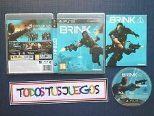 Brink Ps3 Playstation 3 BUEN ESTADO 2082