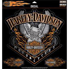 "HARLEY-Davidson Adesivo/Decal ""Eagle Pinstripes"" Grande * DC 118307 *"