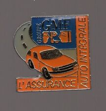 Pin's assurance auto intégrale du groupe GMF (signé formula paris)