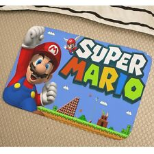 Super Mario Bros Mario Türmatte Fußabtreter Sauberlaufmatte y41 w0085