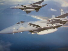 Poster McDonnell Douglas F-15 Eagle US Air Force
