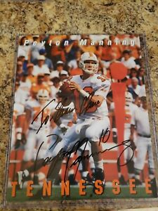 Peyton Manning Signed Autographed 8x10 Tennessee Vols no COA