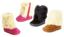 WHOLESALE LOT 36 Pairs New Girls Alaska Fashion Boot Faux Fur Winter Shoes-238K