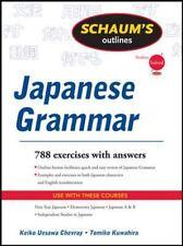 Schaums Outline of Japanese Grammar (Paperback or Softback)