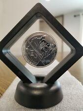 2018 Darth Vader 1 oz. 999 Silver Coin 2 dollar Star Wars jedi lightsaber Framed