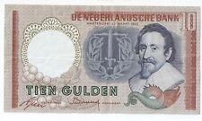 Netherlands 10  gulden 1953 Hugo de Groot # DZL 004914 High grade!!!!