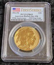 2013-W Reverse Proof Gold Buffalo PCGS PR69 First Strike
